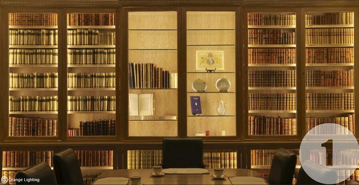 Bookcase Lighting Led Amazing Bookcases