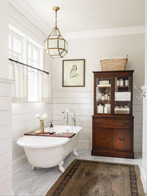 Come arredare il bagno in stile vintage Bellissimi bagni
