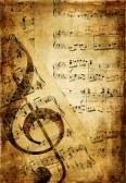Parchment clef