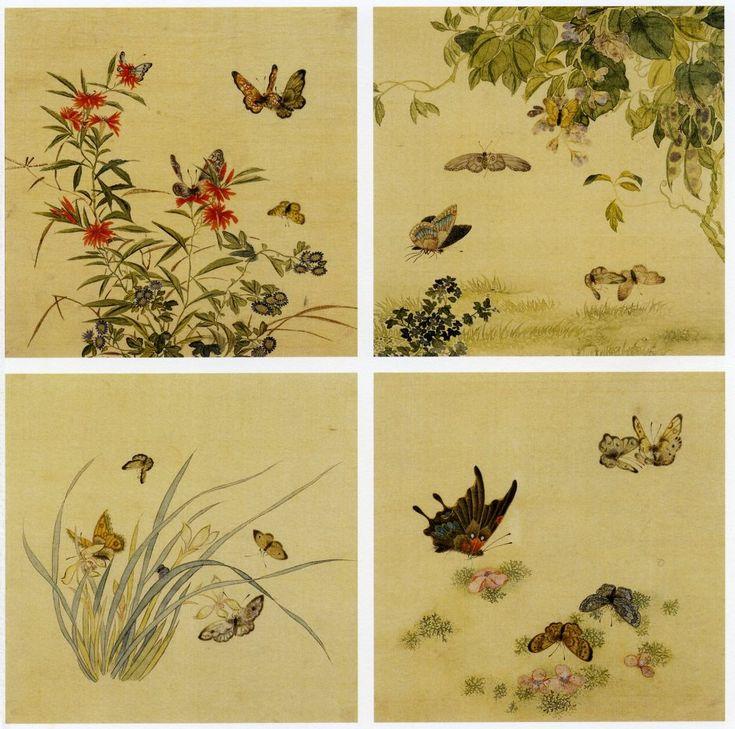 """Kim Dong-jin 김동진, """"Spring: The Butterfly Has Flown"""" 봄입니다. 나비가 날아 왔습니다."""