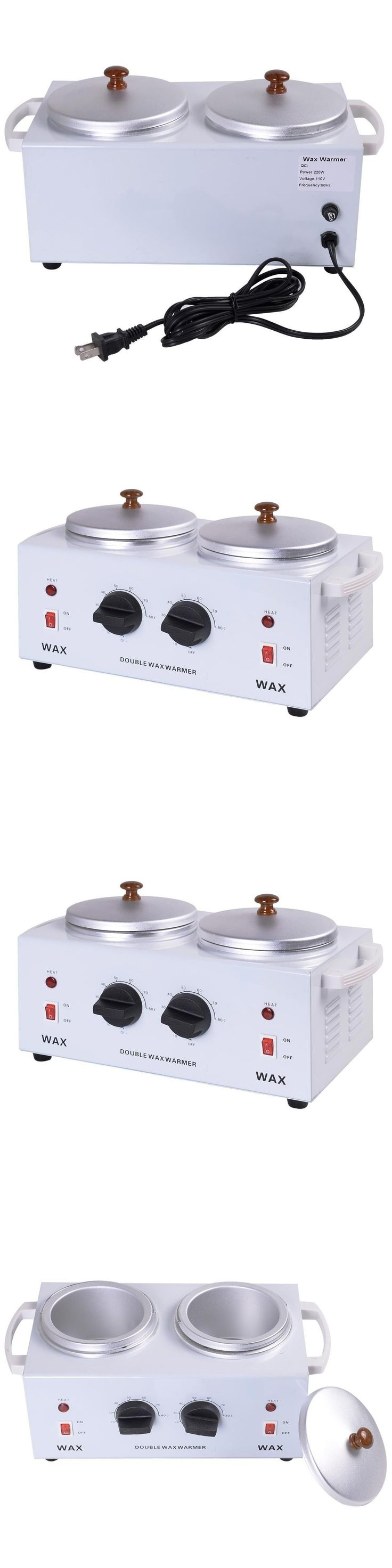 Professional Waxing Warmers: Apontus Apontus Salon Hair Removal Hot Wax Warmer Heater (Double) BUY IT NOW ONLY: $80.47