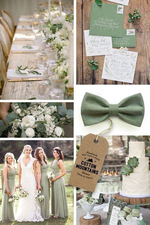 Il verde salvia è uno tra i colori che più andranno di moda per i matrimoni di questa estate. Come sempre noi siamo pronti!