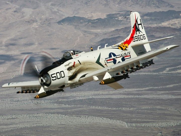 Douglas A -1H (USN) Skyraider
