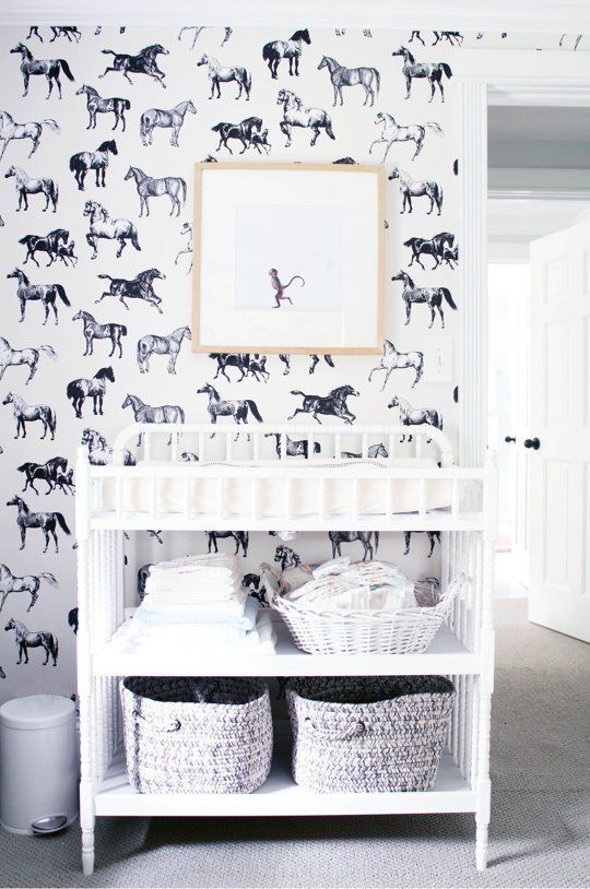 Gorgeous, Glorious Wallpaper in Kids Rooms | Apartment Therapy
