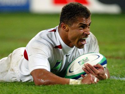 Jason Robinson, my favourite player when I started watching rugby