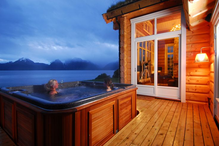 Lyngen Lodge in the Norwegian Fjords available to book from us at…