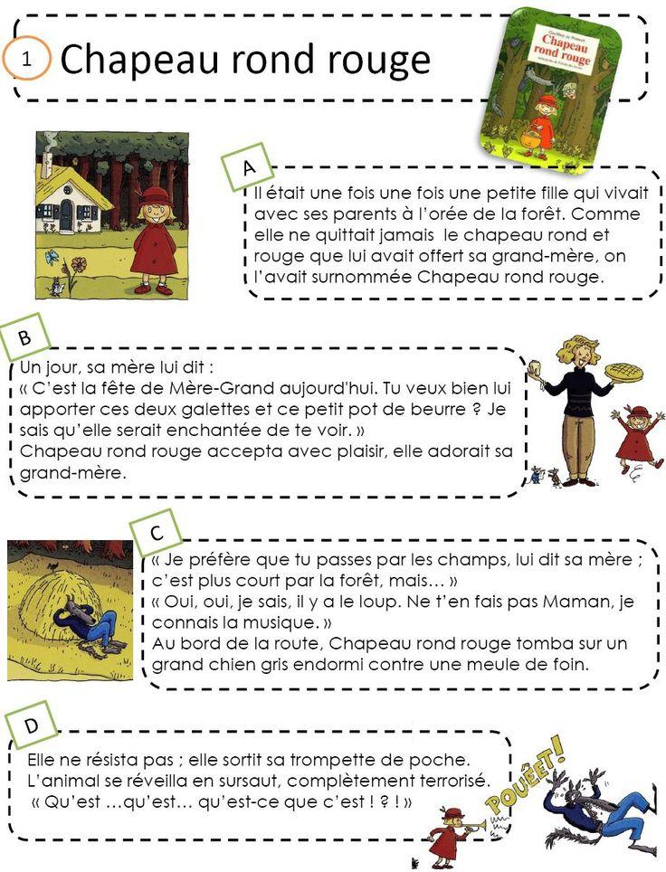 Chapeau rond rouge - L'école de Crevette