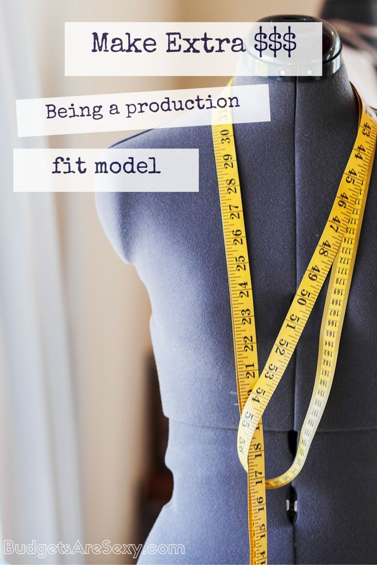 When most people think of modeling, they think of glamorous photoshoots on beautiful islands, jetsetting lifestyles and stick thin girls who eat ice chips for most meals. but I was lucky to stumble upon the real money making job in the modeling industry: being a production fit model. http://www.budgetsaresexy.com/2015/05/production-fit-modeling-job/
