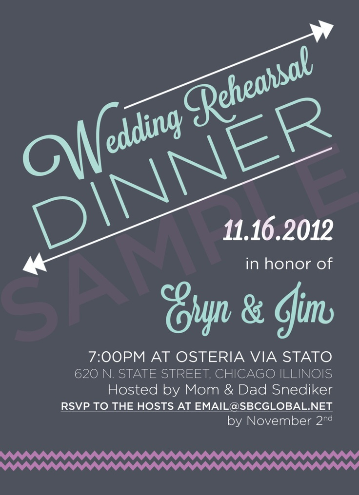 78 best Wedding Rehearsal Dinner Invitations images on Pinterest - printable dinner invitations
