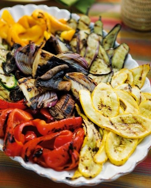 How about a grilled vegetable platter for your vegan wedding menu? Easy to make…