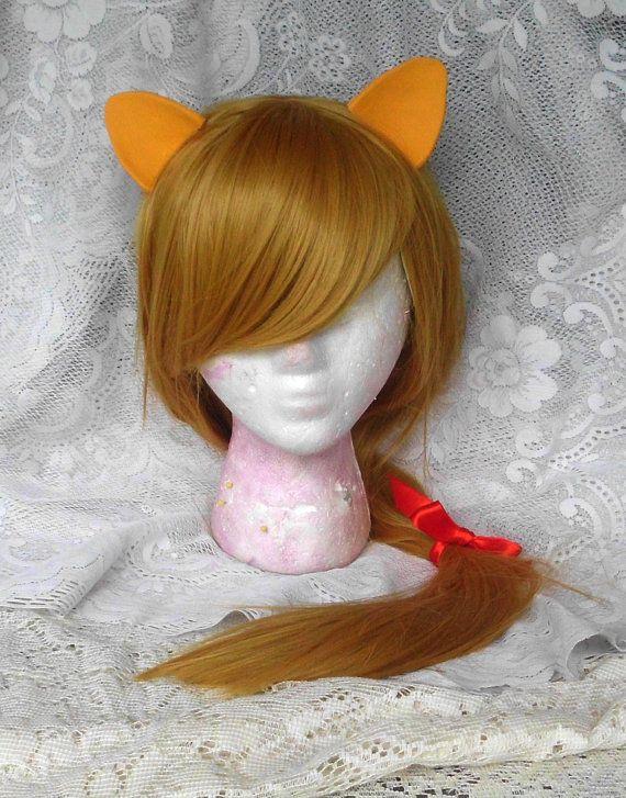 Applejack Wig Blond Blonde Pony MLP Costume by GustavosGoods, $100.00