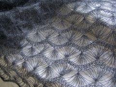 Machine Fan Lace Shawl pattern by Maxim Vorsin