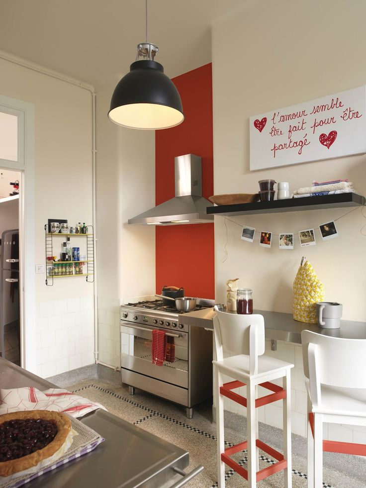 Les 10 meilleures images du tableau rood rouge sur for Deco cuisine levis