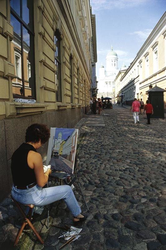 Helsinki, Finland Artist