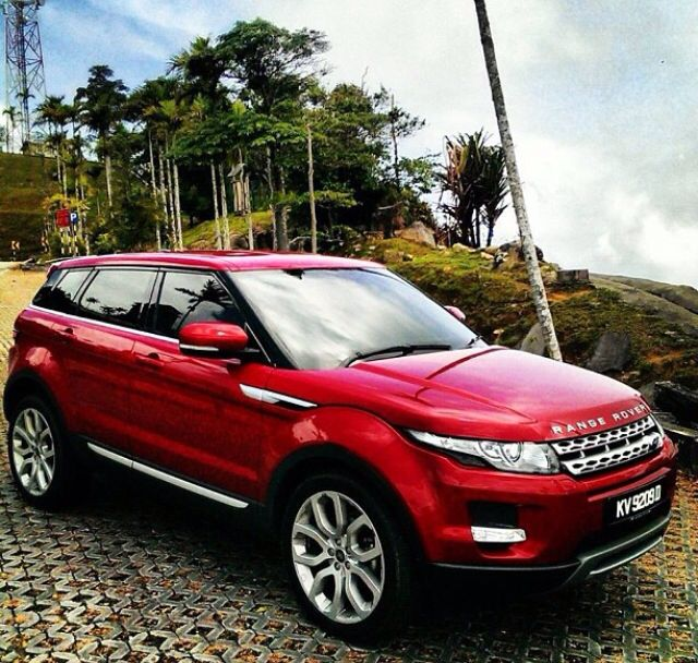firenze red range rover evoque. Black Bedroom Furniture Sets. Home Design Ideas