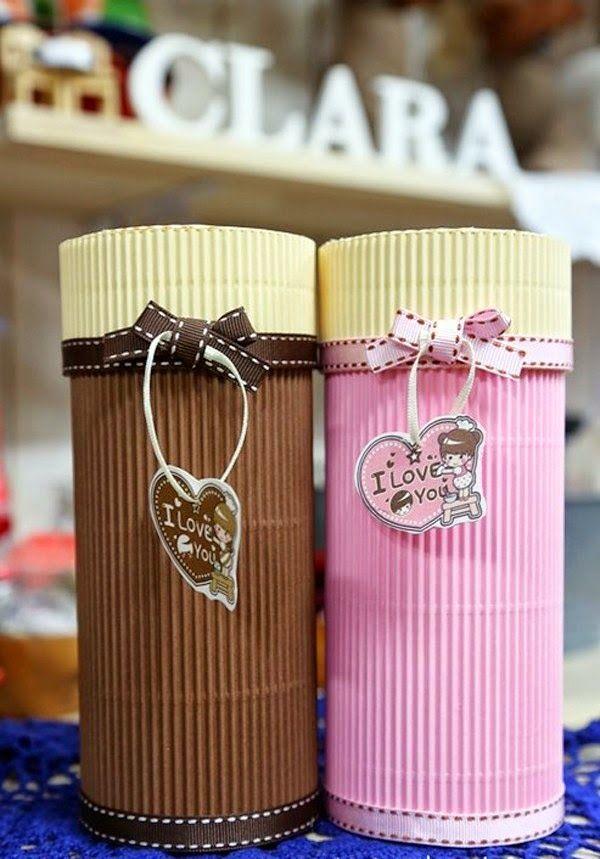 Tips para hacer manualidades con cartón corrugado | Manualidades
