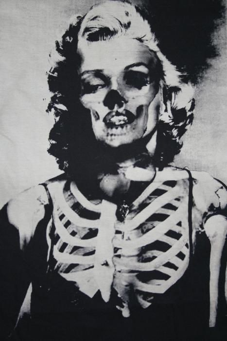 skull marilyn.