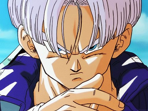 If Trunks gives you this look, you're screwed