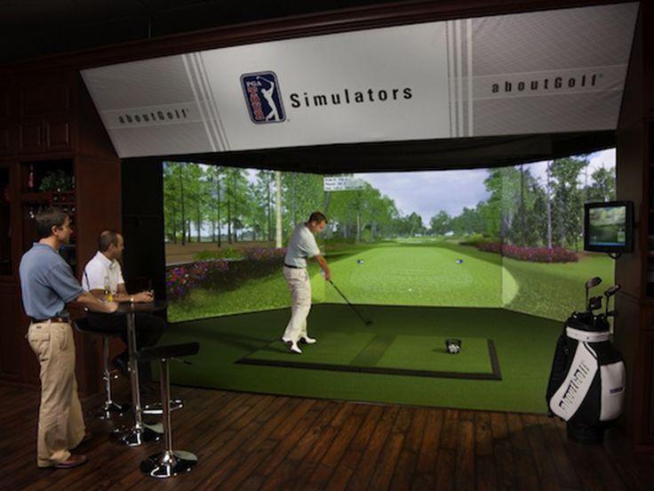 17 best ideas about golf simulators on pinterest golf for 3d room simulator