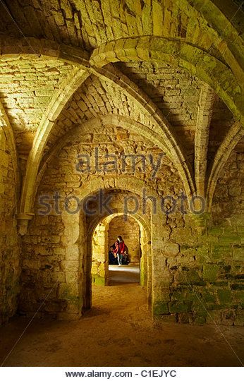 The Novices' Room, Battle Abbey, Battle, East Sussex, England, United Kingdom - Stock Image