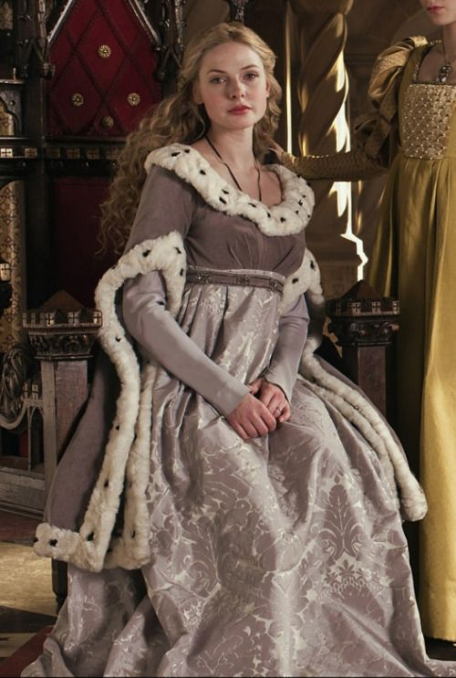 Elizabeth Woodville's Grey Gown (The White Queen, 2013)