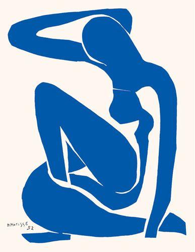 Blue Nude 1 - Henri Matisse www.easyart.com