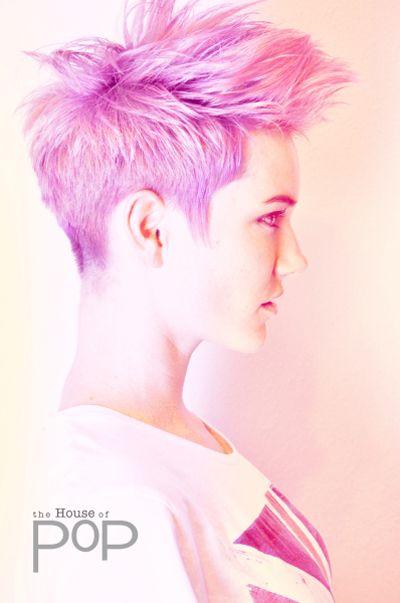 Ariel in Pink Courtesy: Douglas McCoy - Spokane, WA model: Ariel St. Clair hair: Douglas McCoy photo: House Of POp