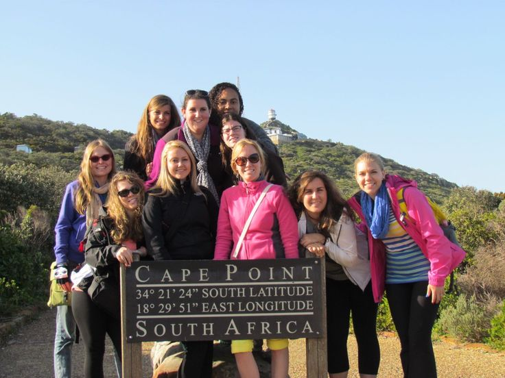 Students experienced a diverse culture in South Africa this summer!