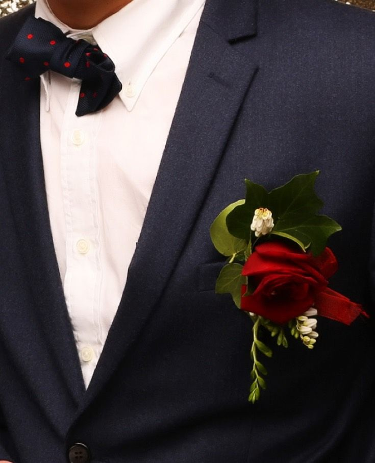 St Cuths Ball 2015. Adore this red and navy colour combo! www.whitedoor.co.nz