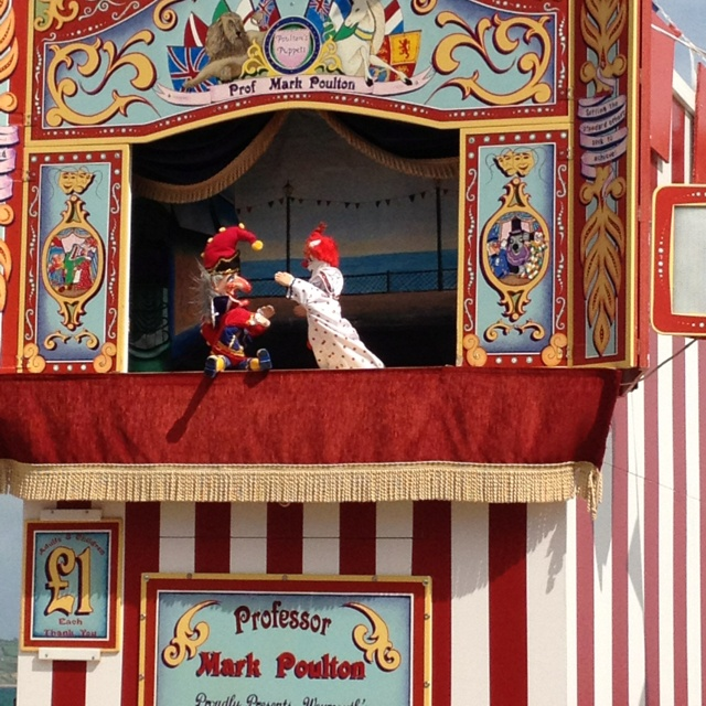The last punch and judy ! ( that's the way to do it ) x