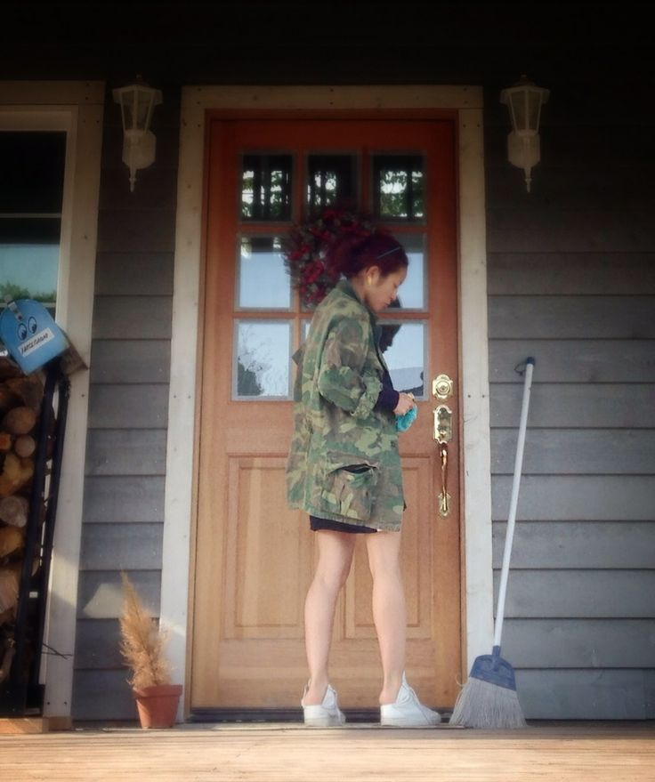 TOPS :  vintage military  PANTS :  American Apparel  SHOES :  MM6