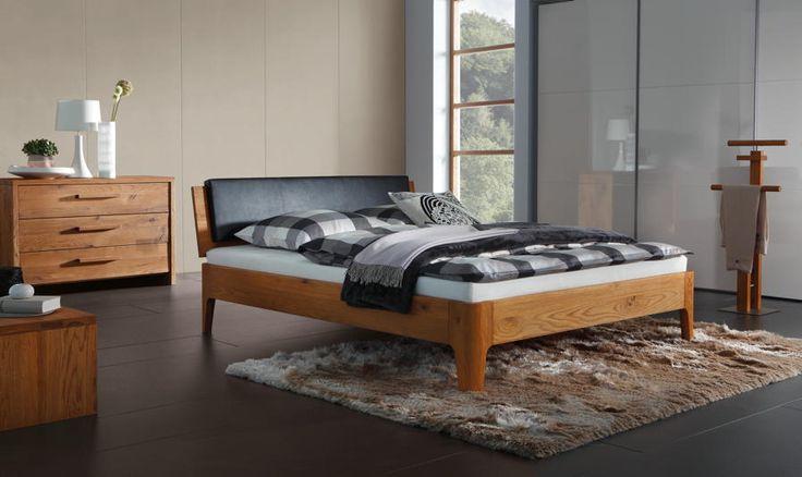Bett HASENA OAKLINE Oak Xylo Varus Bettgestell, Doppelbett - Wunderschöne Schlafzimmermöbel