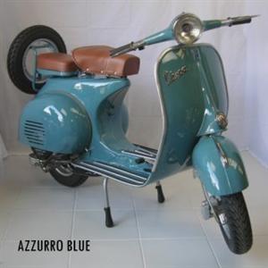 Vespa Classic Azzuro Blue