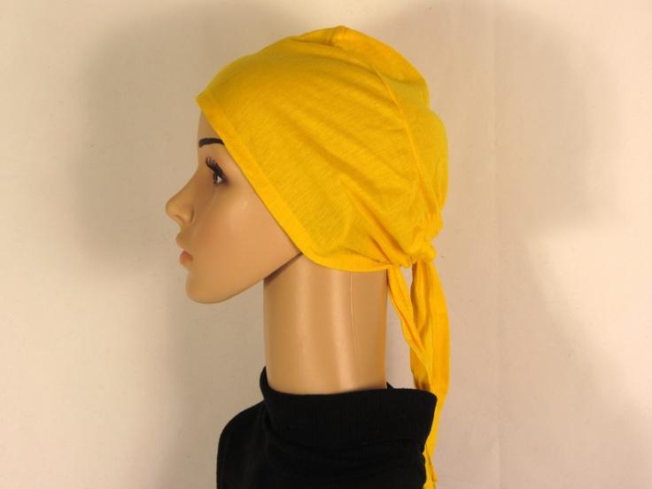 Ridaaz - Under scarf Cap plain Yellow, $5.99 (http://www.ridaaz.co.nz/underscarf/under-scarf-cap-plain-yellow/)