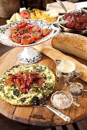 Sira House - greek omelette