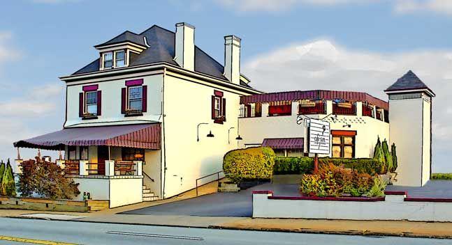 Cafe Sam Restaurant Pittsburgh PA located near the UPMC Shadyside Hillman Cancer Center Courtyard Marriot Hotel Restaurants