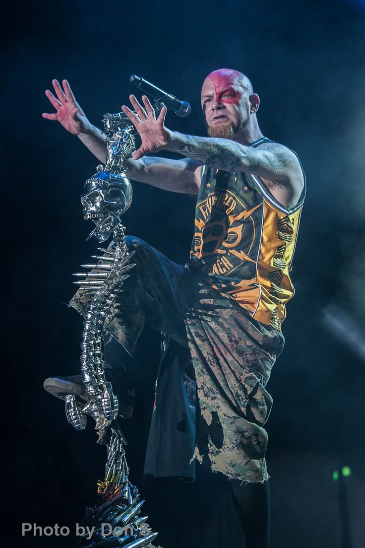 Five Finger Death Punch Ivan Moody - vocals