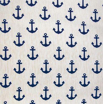 Home Decor Fabric GH Rainwater Blues Decorator Fabrics #Rainwater_Blues  #Blue #Beach #Anchors