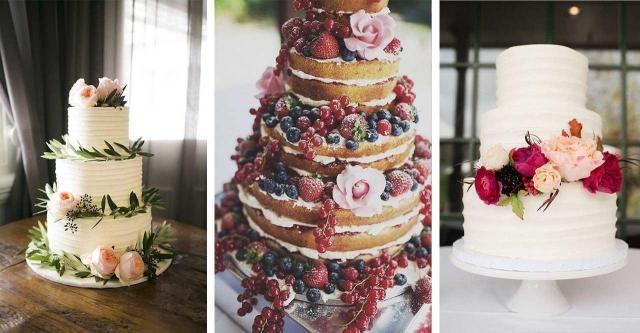 Niesamowite torty na wesele. Genialne!