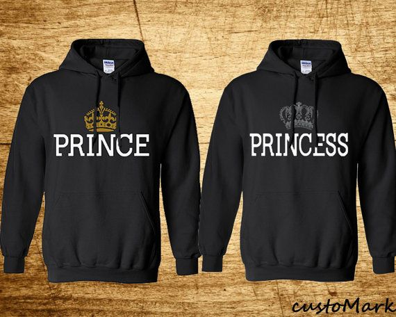 Hey, I found this really awesome Etsy listing at https://www.etsy.com/listing/240064676/prince-princess-hoodies-cute-sweat