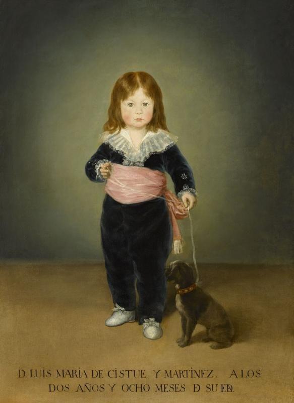 Франциско Гойя. 1746 - 1828. Испания. Портрет Луиса Марии Кистуэ-и-Мартинеса.1791. Холст, масло. 118х86 см. Музей Лувр, Париж