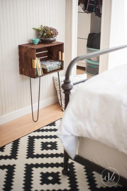 The Great Crate Challenge - 10 bloggers take on the challenge of using a plain Michael's Stores crate! - Dwell Beautiful