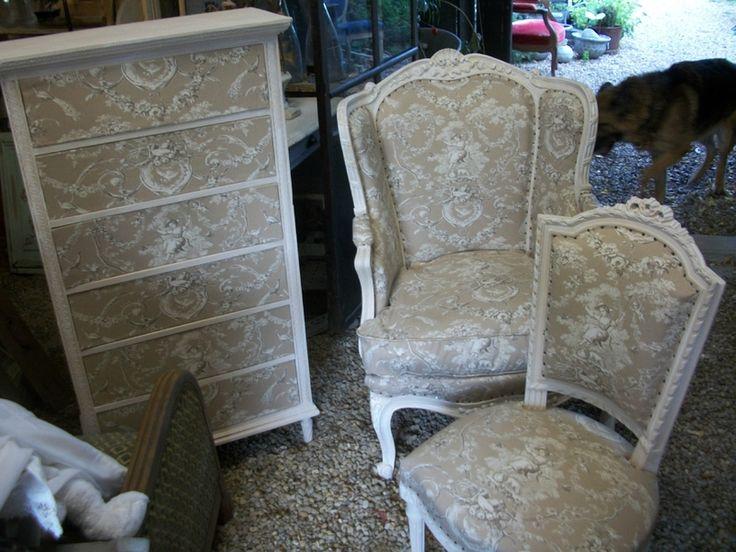 les 82 meilleures images propos de mes relooking fauteuils anciens sur pinterest louis xvi. Black Bedroom Furniture Sets. Home Design Ideas