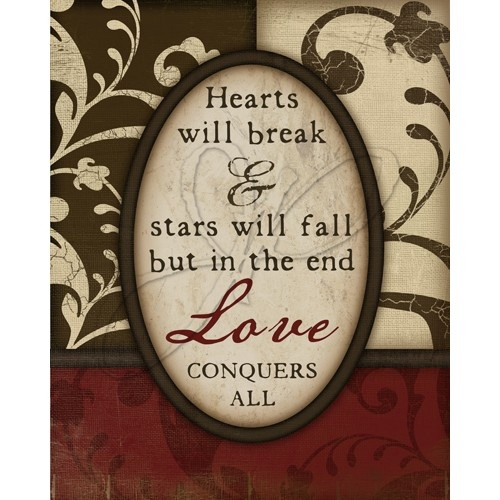 Love Conquers All 8x10 Print