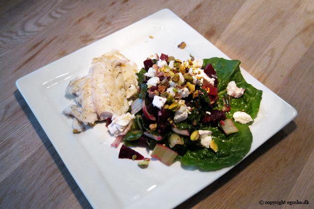 EGOSHE.dk - En madblog med South Beach opskrifter og andet godt...: Bede- og gedeostsalat