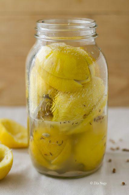 Marokkói sóban eltett citrom és egy kis afrikai utazás