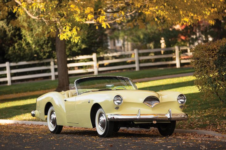 1954 Kaiser-Darrin Convertible In the mid-fifties there was a rush to produce a roadster in America that would rival the British imports. Ford was working on the Thunderbird, GM had their Corvette but a little-known Kaiser beat them to the chase. Dutch-born Howard Darrin surprised Henry J. Kaiser with a prototype car in 1952. Even ...