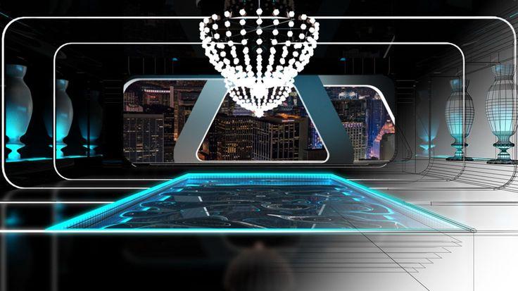 Criar diferentes ambientes de um hotel altamente sofisticado para ilustrar ambientes musicais distintos de uma radio online.    - Spa