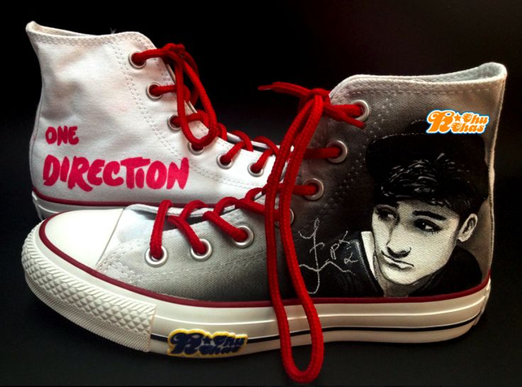 One Directiom Zayn Malik Shoes <3 <3 <3 <3