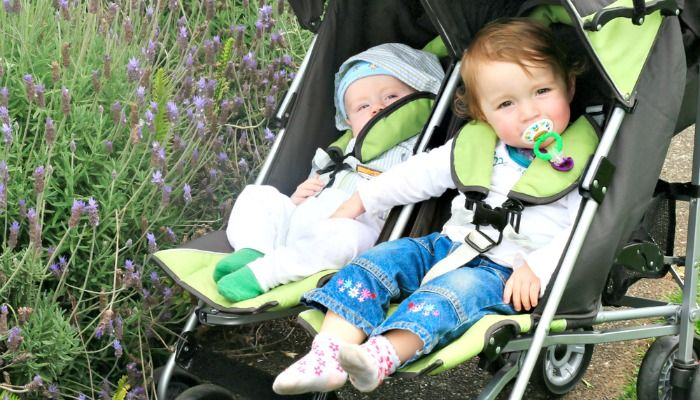My Irish twins charged into my life like a whirlwind. If you've ever wondered what it's like to raise two toddlers, here is a list of things that happen.